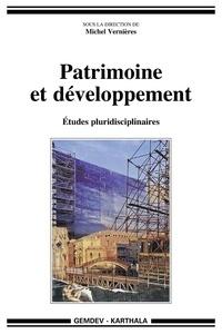 Michel Vernières - Patrimoine et développement - Etudes pluridisciplinaires.
