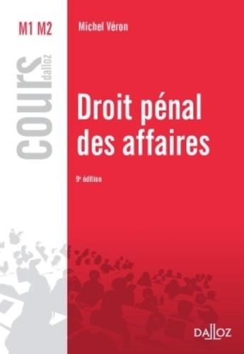 Droit pénal des affaires 9e édition