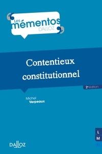 Michel Verpeaux - Contentieux constitutionnel - 2e ed..