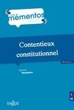 Michel Verpeaux - Contentieux constitutionnel.