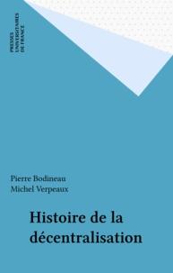 Michel Verpeaux et Pierre Bodineau - .