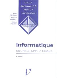 DECF épreuve n° 5 informatique. Cours et applications, 2ème édition.pdf