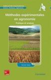 Michel Vilain - Méthodes expérimentales en agronomie - Pratique et analyse.