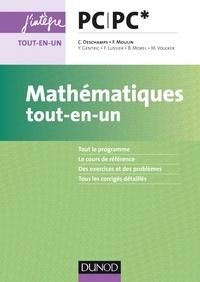 Claude Deschamps et Michel Volcker - Mathématiques tout-en-un PC/PC*.