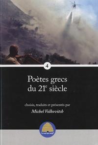 Michel Volkovitch - Poètes grecs du 21e siècle - Volume 4.