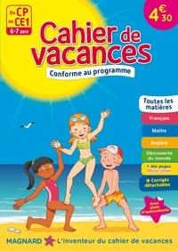 Michel Wormser et Patrick Morize - Cahier de vacances Du CP au CE1 - 6-7 ans.