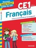 Michel Wormser et Bernard Séménadisse - Cahier du jour/Cahier du soir Français CE1 + mémento.