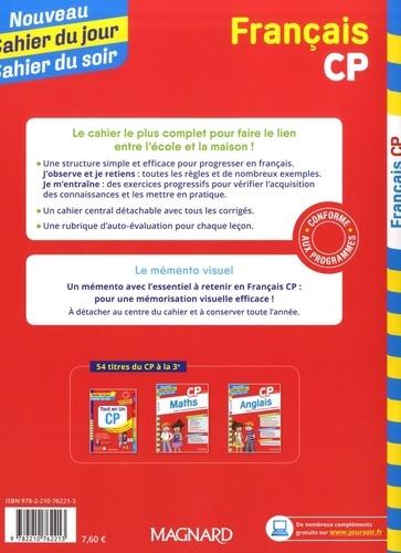 Cahier du jour/Cahier du soir Français CP + mémento  Edition 2019