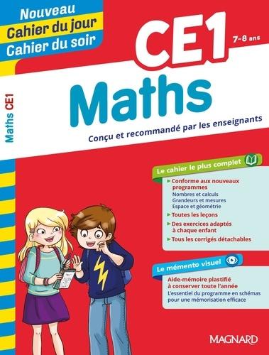 Cahier du jour/Cahier du soir Maths CE1 + mémento  Edition 2019