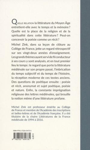 Ce que nous devons aux anciens poètes de la France