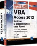 Michèle Amelot et Henri Laugié - VBA Access 2013 - Maîtrisez la programmation sous Access, 2 volumes.