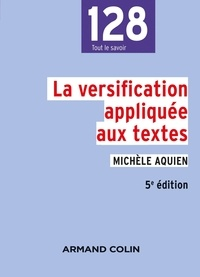 Michèle Aquien - La versification appliquée aux textes.