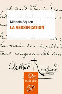 Michèle Aquien - La versification.