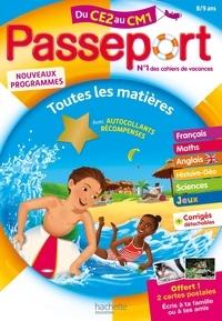 Michèle Bacon et Jean-Etienne Hérété - Passeport Toutes les matières du CE2 au CM1.