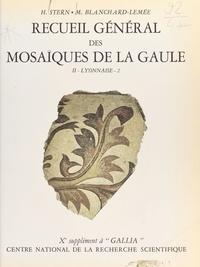 Michèle Blanchard et Lemée Stern - Recueil Gal mosaïques Gaulle 10-2/2.