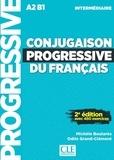 Michèle Boularès et Odile Grand-Clément - Conjugaison progressive du français intermédiaire - Avec 450 exercices. 1 CD audio