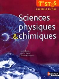 Michèle Busnel et Michelle Kéroas - Sciences physiques et chimiques 1re ST2S - Nouvelle édition.