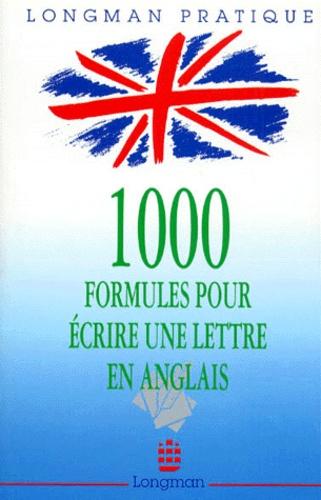 Michèle Carret - 1000 formules pour écrire une lettre en anglais.