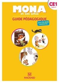 Michèle Charbonnier et Joël Garnier - Français CE1 Cycle 2 Mona et ses amis - Guide pédagogique. 1 CD audio
