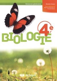 Biologie 4e sciences générales - Michèle Cornet |