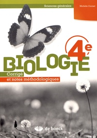 Gratuit Pdf Biologie 4e Sciences Generales Corrige Et Notes