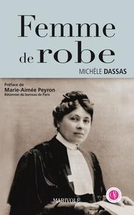Michèle Dassas - Femme de robe.
