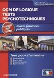 Michèle Eckenschwiller et Guy Barussaud - QCM de logique tests psychotechniques.