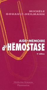 Deedr.fr Aide-mémoire d'hémostase Image