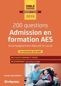 Histoiresdenlire.be Admission en formation d'AES accompagnant éducatif et social - 200 questions Image