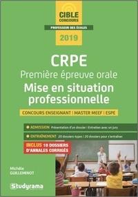 Michèle Guilleminot - CRPE Première épreuve orale : mise en situation professionnelle.
