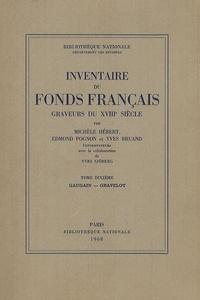 Michèle Hébert et Edmond Pognon - Graveurs du XVIIIe siècle - Tome 10, Gaugain - Gravelot.