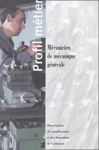 Michèle Heitz - Mécanicien de mécanique générale.