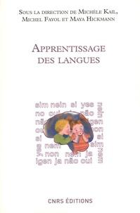 Apprentissage des langues - Michèle Kail |