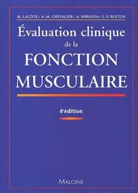 Corridashivernales.be Evaluation clinique de la fonction musculaire - 4ème édition Image