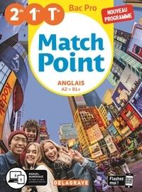 Anglais 2de/1re/Tle Bac Pro A2 > B1+ Match Point - Michèle Lapalme |