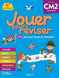Michèle Lecreux et Loïc Audrain - Jouer pour réviser CM2 à la 6e - Avec un crayon.