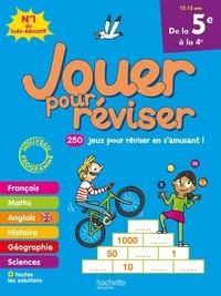 Michèle Lecreux et Eric Berger - Jouer pour réviser de la 5e à la 4e - Avec un crayon.