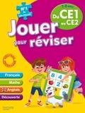 Michèle Lecreux et Loïc Audrain - Jouer pour réviser du CE1 au CE2, 7-8 ans - Avec un crayon-gomme.
