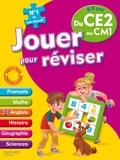 Michèle Lecreux et Loïc Audrain - Jouer pour réviser du CE2 au CM1, 8-9 ans - Avec un crayon-gomme.