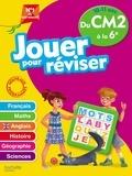 Michèle Lecreux et Loïc Audrain - Jouer pour réviser du CM2 à la 6e - Avec un crayon.
