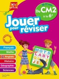Téléchargements de livres électroniques gratuits Jouer pour réviser du CM2 à la 6e  - Avec un crayon PDF CHM par Michèle Lecreux, Loïc Audrain, Sylvie Cote, Célia Gallais en francais 9782017865742
