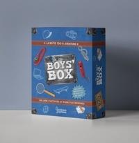 Michèle Lecreux et Agnès Fouquart - La Boys' Box - La boîte 100% aventure. Avec un livre d'activités et plein d'accessoires.