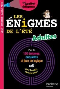 Michèle Lecreux et Pascal Guichard - Les énigmes de l'été - Adultes.