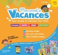 Michèle Lecreux et Sandra Lebrun - Mon carnet de vacances du CE1 au CE2.