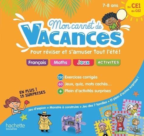 Mon Carnet De Vacances Du Ce1 Au Ce2 Grand Format