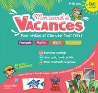 Michèle Lecreux et Sandra Lebrun - Mon carnet de vacances du CM1 au CM2.
