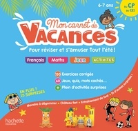 Michèle Lecreux et Sandra Lebrun - Mon carnet de vacances du CP au CE1.