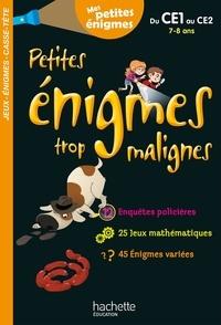 Michèle Lecreux et Eric Berger - Petites énigmes trop malignes.