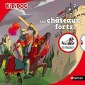 Michèle Longour et Charlotte Roederer - Les châteaux forts.