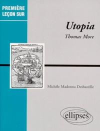 """Michèle Madonna Desbazeille - """"Utopia"""" de Thomas More."""